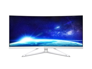 "Philips 349X7FJEW 34"" UWQHD Curved UltraWide VA LCD Monitor"