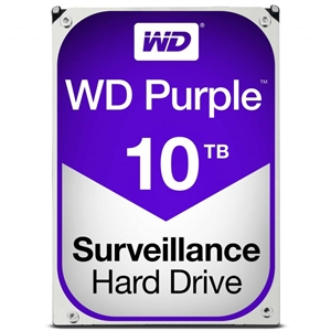 "Western Digital Purple 10TB 3.5"" Hard Drive"