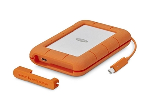 LaCie 4TB Rugged Thunderbolt & USB-C Portable External Hard Drive