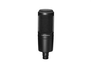 Audio Technica AT2020 BK Condenser Microphone - Black