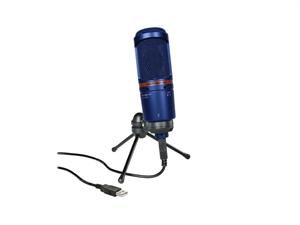 Audio Technica AT2020USB+BL Condenser Microphone - Blue