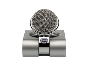 BLUE Snowflake Portable USB Microphone - Silver