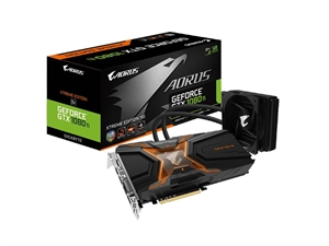 Gigabyte AORUS GeForce GTX 1080Ti Waterforce Xtreme Edition 11GB Graphics Card