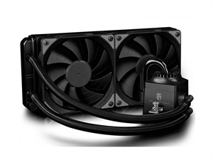 DeepCool Gamer Storm Captain 240EX AIO Liquid CPU Cooler - RGB