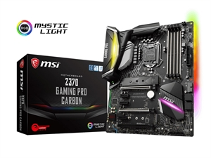 MSI Z370 Gaming Pro Carbon Intel Motherboard
