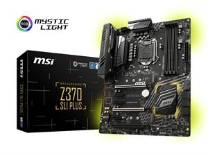 MSI Z370 SLI Plus Intel MotMotherboard