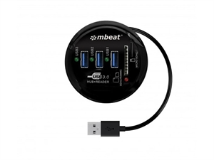 Mbeat USB 3.0 Combination Hub and SD Card Reader