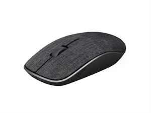 Rapoo 3510 Plus 2.4GHz Wireless Optical Fabric Mouse - Black