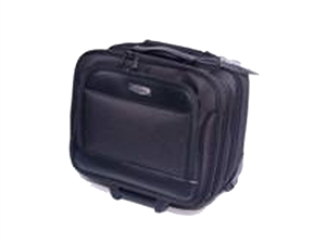 "AD CAPTAIN Executive 16"" Notebook Trolley Bag Black"