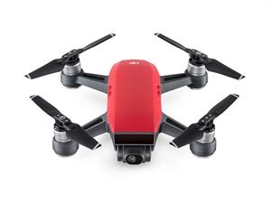 DJI Spark Mini Drone Combo - Lava Red