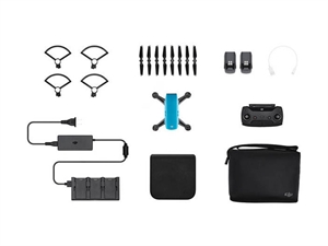 DJI Spark Mini Drone Combo - Sky Blue