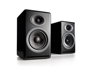 Audioengine P4 Passive Bookshelf Speakers(Pair) - Satin Black
