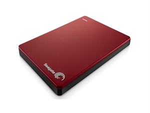 Seagate Backup Plus 2TB USB3 Portable External Hard Drive - Red
