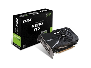 MSI GeForce GTX 1060 Aero ITX 6GB OC Graphics Card