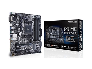 ASUS PRIME B350M-A/CSM AM4 Micro-ATX Motherboard