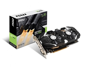 MSI GeForce GTX 1060 3GB OC Graphics Card