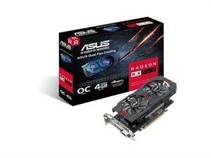 ASUS Radeon RX560-O4G RX 560 Graphics Card