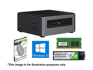 CentreCom 'Pro SSD Intel i5 4GB' NUC System