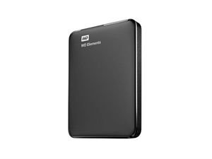 Western Digital Elements 1TB External Hard Drive