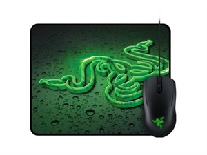 Razer Abyssus 2000 USB Mouse and Goliathus Speed Terra Small Mouse Mat