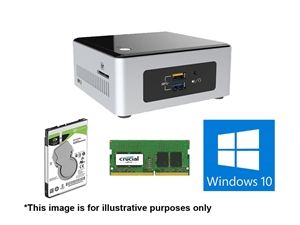 CentreCom 'Pro Intel i3 8GB' NUC System