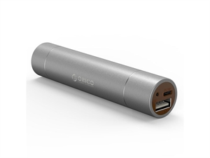 ORICO 3350mAh Mini Power Bank with LED light - Darkgray