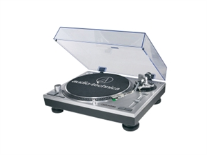 Audio-Technica Direct Drive Turntable Record Player - Silver
