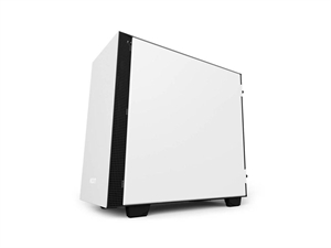 NZXT H400i Smart Matte Micro ATX Case - White
