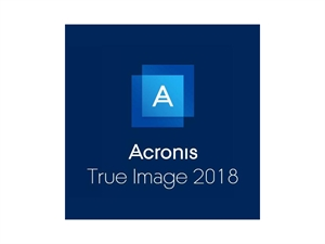 Acronis True Image 2018 License Sticker - 1 Computer