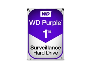 "Western Digital WD 1TB Purple 3.5"" SATA3 Surveillance Hard Drive"