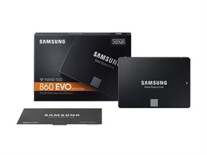 "Samsung 860 EVO 500GB 2.5"" SATA III Solid State Drive - MZ-76E500BW"
