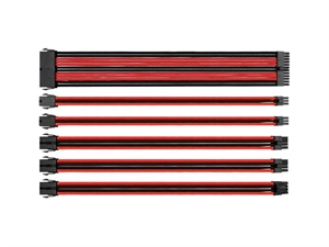 Thermaltake TtMod Sleeve Cable - Red/Black
