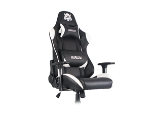 Karuza YX-806 Gaming Chair - Black/White
