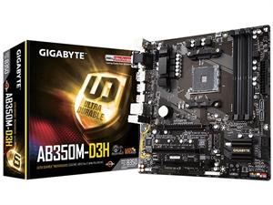Gigabyte AB350M-D3H AM4 mATX MOTHERBOARD