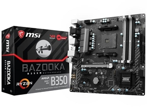 MSI B350M Bazooka AM4 Micro-ATX Motherboard
