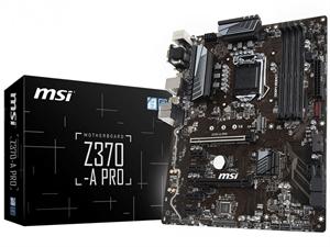 MSI Z370-A PRO Z370 LGA1151 ATX Motherboard