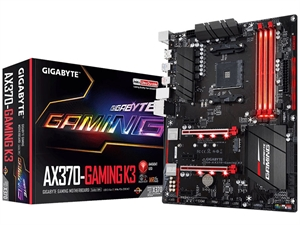 Gigabyte AX370 Gaming K3 AM4 ATX Motherboard