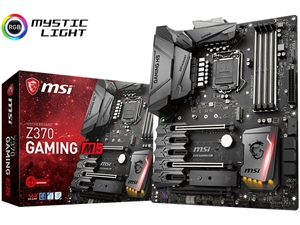 MSI Z370 Gaming M5 Intel Motherboard