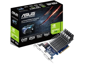 ASUS GeForce GT 710 2GB Silent Graphics Card