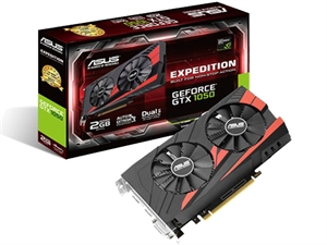 Asus GTX 1050 Expedition 2GB Graphics Card