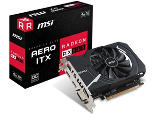 MSI Radeon RX 560 Aero ITX OC 4GB Graphics Card
