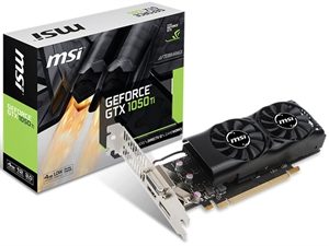 MSI GeForce GTX1050Ti 4GT LP 4GB Graphics Card