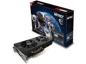 Sapphire AMD NITRO+ RX 570 4GB Extreme Gaming Graphics Card