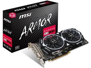 MSI Radeon RX 580 Armor MKII OC 8GB Graphics Card