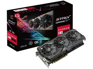 ASUS Radeon RX 580 ROG Strix OC 8GB Graphics Card