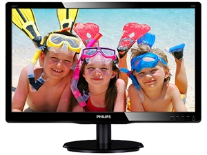"Philips 226V4LAB 21.5"" Full HD Display LED Monitor with Speakers"