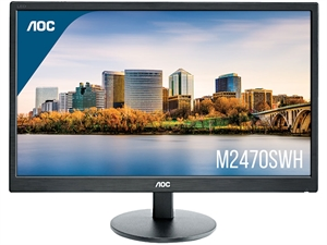 "AOC M2470SWH 23.6"" Full HD Monitor with Speakers"