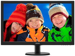 "Philips 273V5LHAB 27"" LCD Monitor with Smart Control Lite & Speakers - V-line"