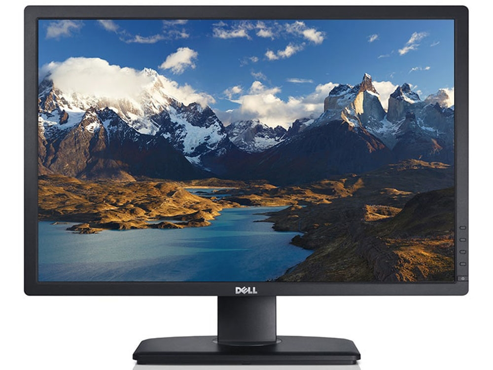 Dell U2412m 24 Ultrasharp Ips Tilt Pivot And Swivel