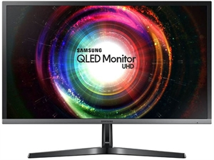 "Samsung U28H750UQE 28"" 4K UHD Quantum Dot FreeSync Monitor"